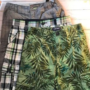 Other - Boys 3 pair shorts lovers bundle size 12